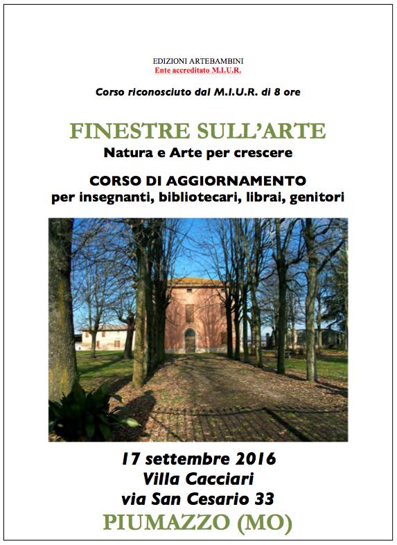 Artebambini finestre sull 39 arte piumazzo 2016 - Finestre sull arte ...